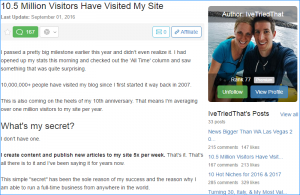 wealthy affiliate success story 3