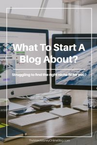 what to start a blog about