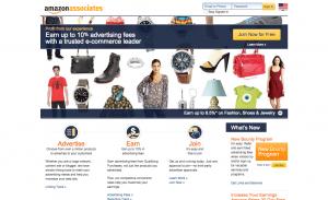 make money through affiliate marketing with amazon