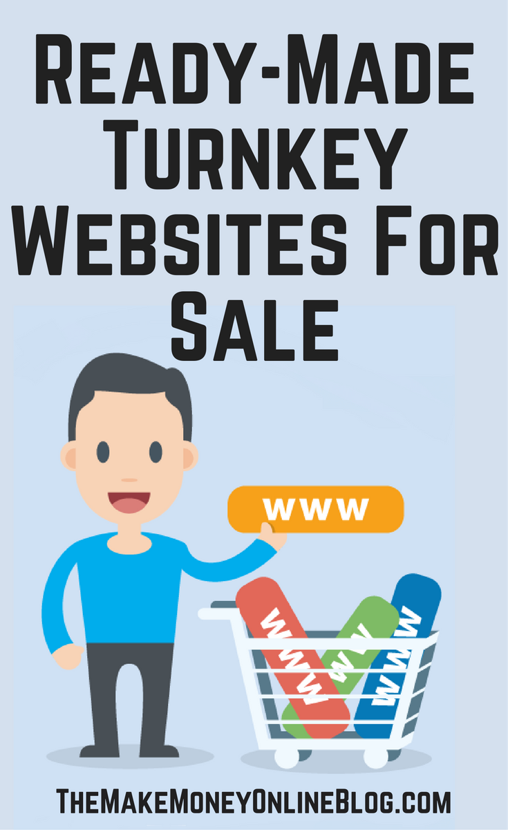 ready made turnkey websites for sale