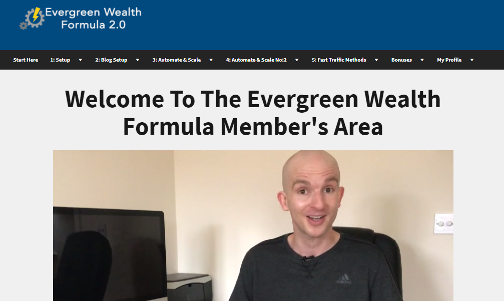 evergreen wealth formula scam
