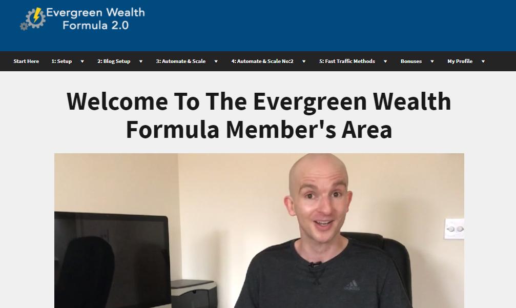 evergreen wealth formula scam