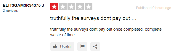 surveypayme complaints