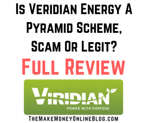 is veridian energy a pyramid scheme scam or legit