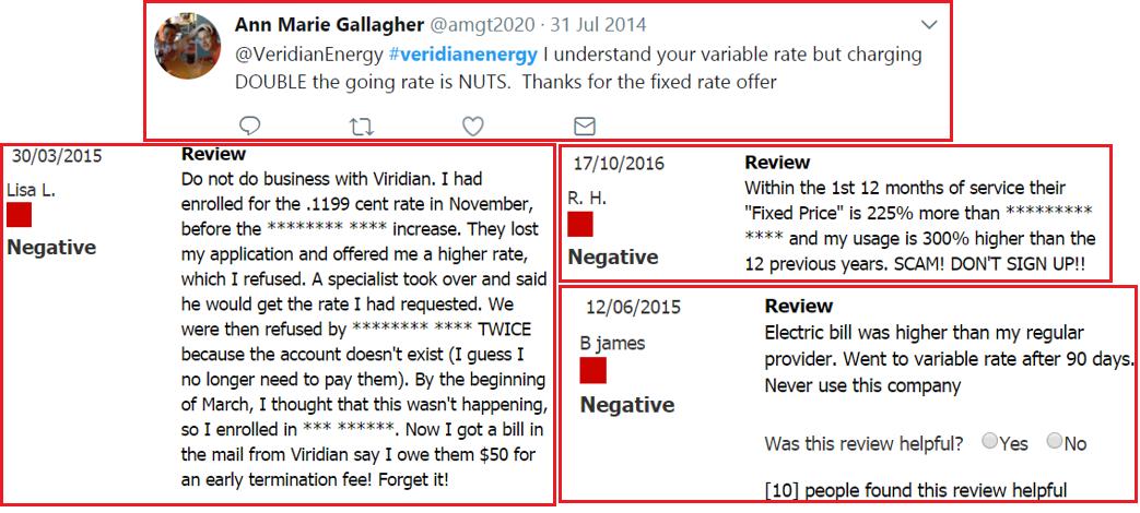 veridian energy scam reviews complaints