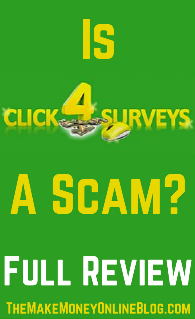 is click4surveys a scam
