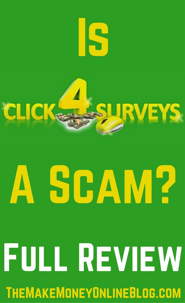 is click4surveys a scam