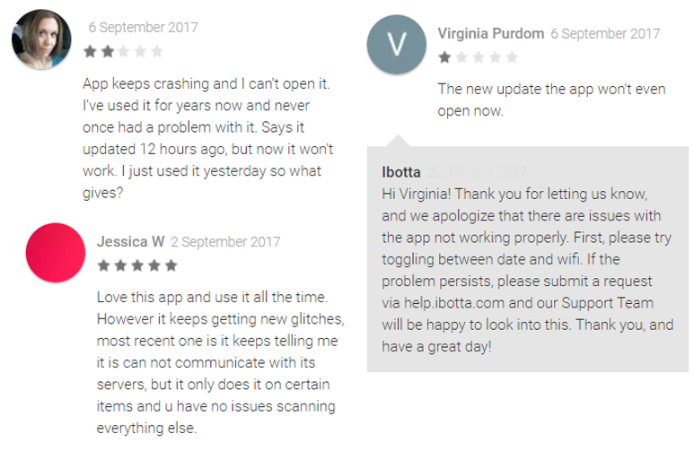 ibotta app reviews and complaints