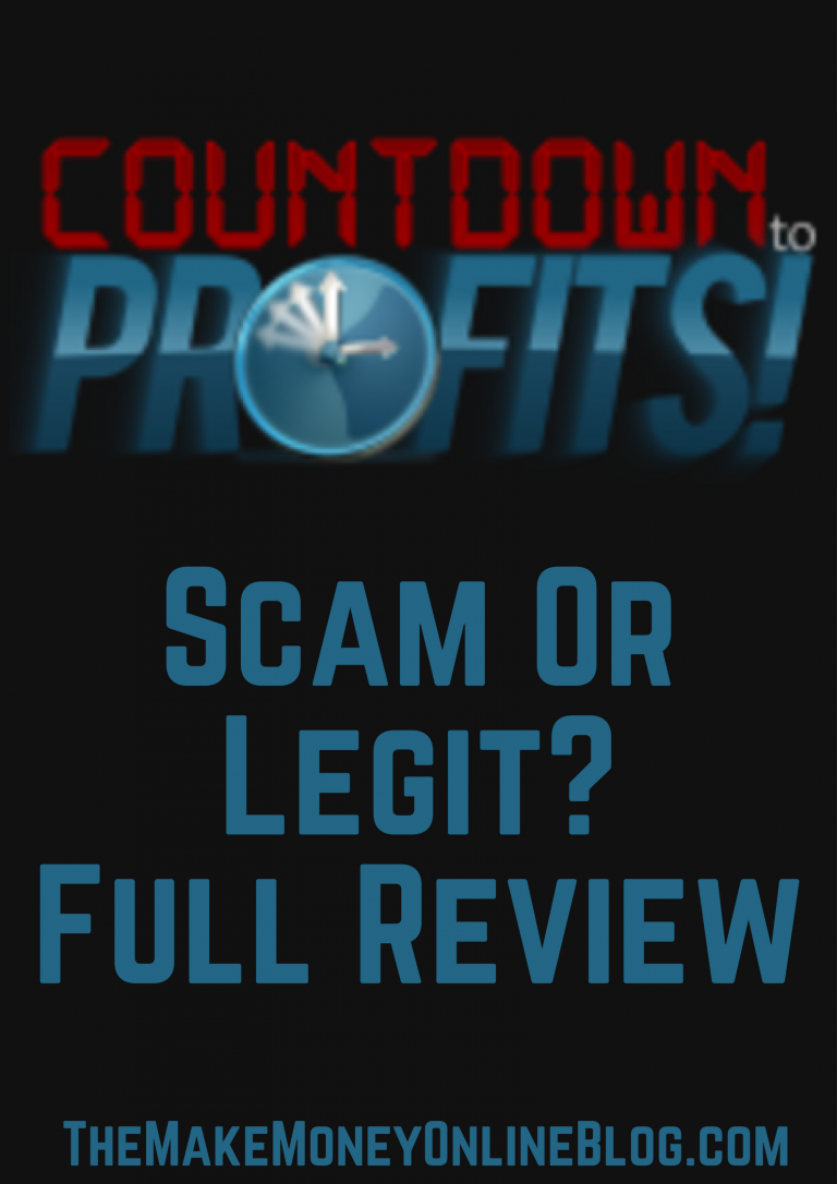 is countdown to profits a scam or not