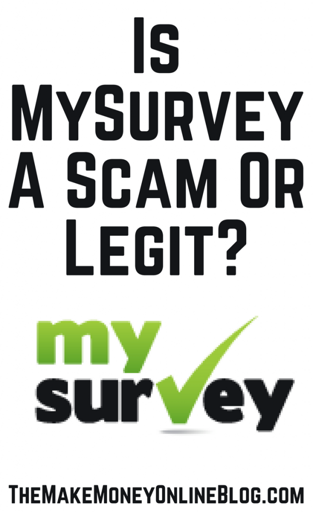is mysurvey a scam or legit