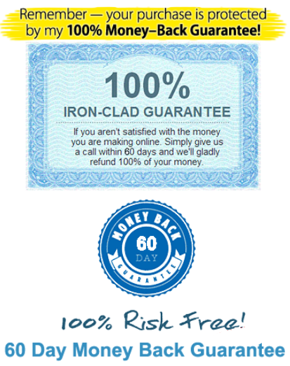 iron-clad guarantee refund