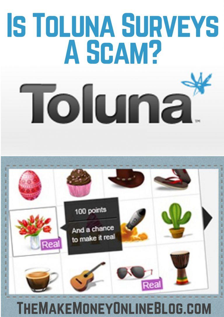 is toluna surveys a scam