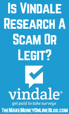 is vindale research a scam or legit
