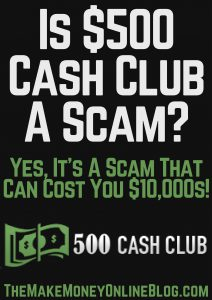is $500 club a scam
