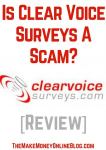 is clear voice surveys a scam