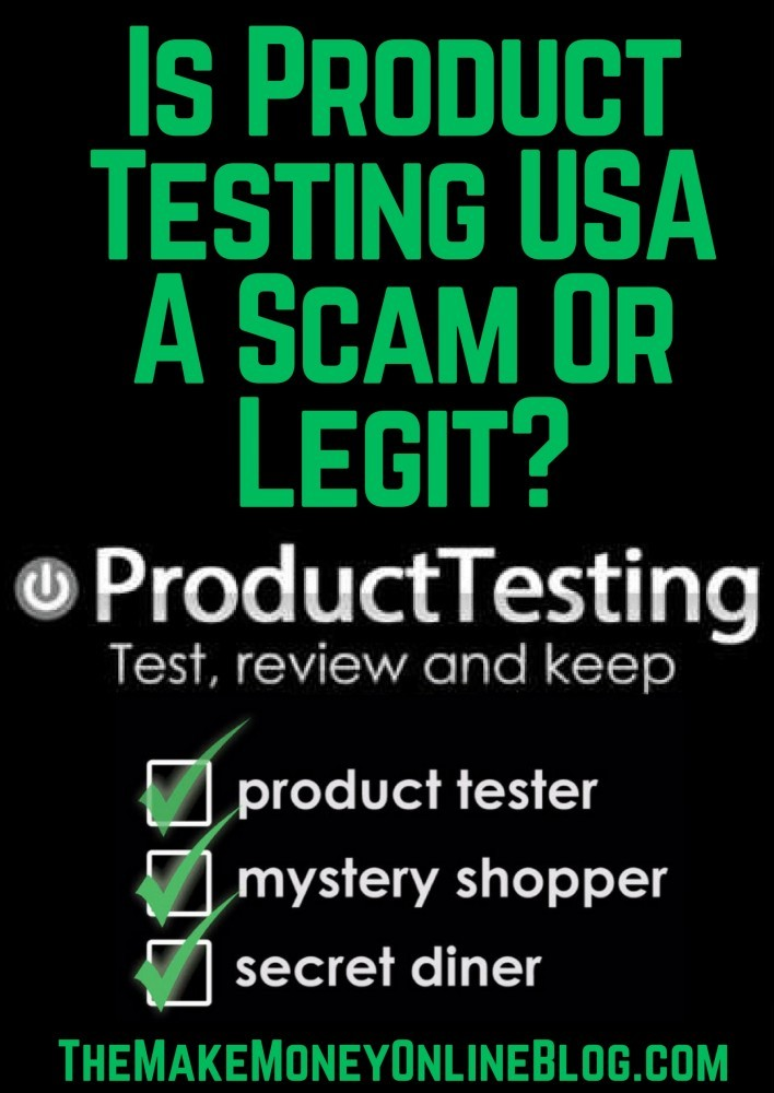 is product testing usa a scam or legit