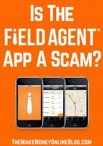 is the field agent app a scam