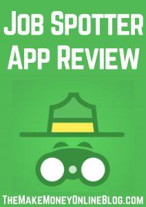 job spotter app review