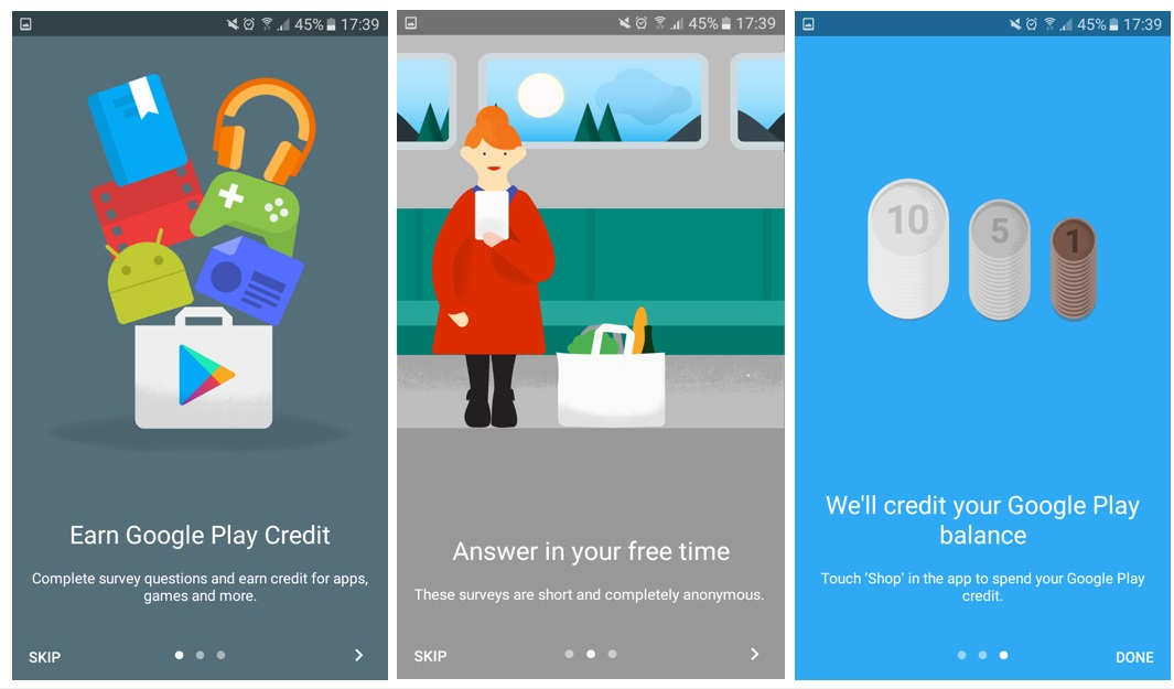 the google opinion rewards app review