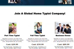 type at home scam review