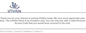 utellus invite code