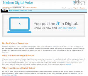 what is nielsen digital voice