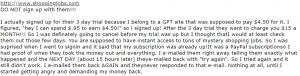 shoppingjob reviews complaints