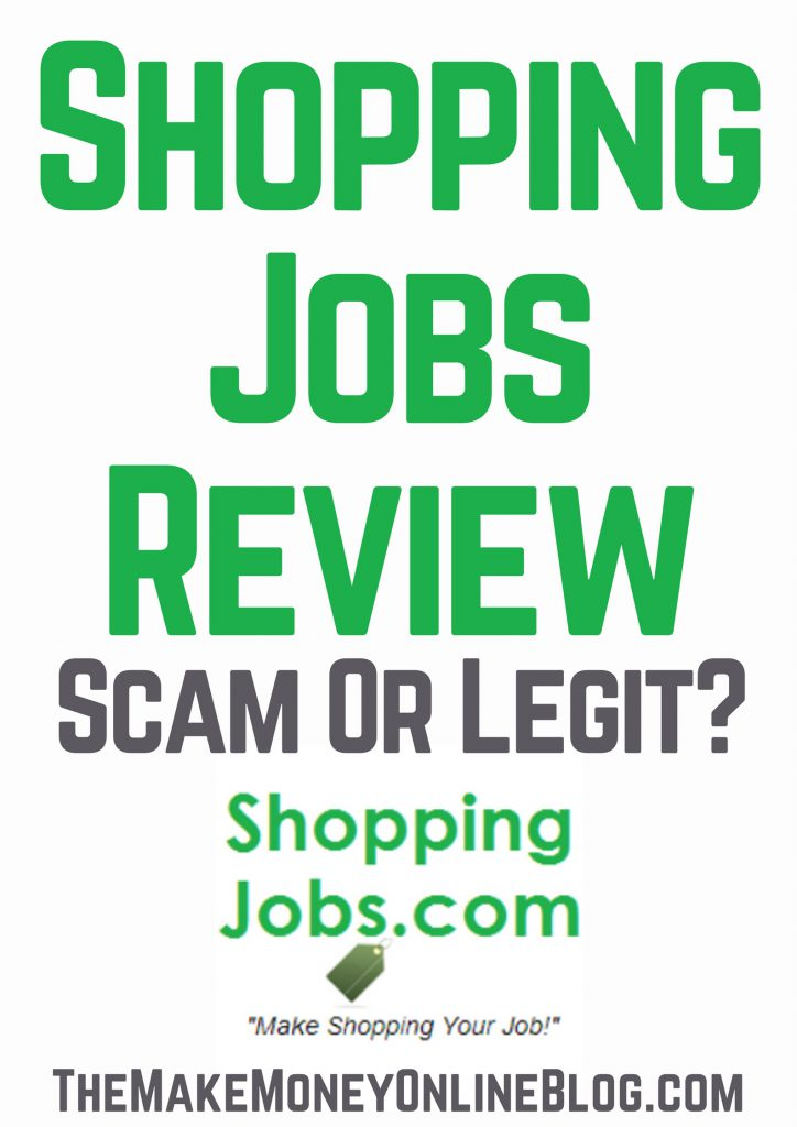 Mystery shopping online job review