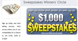 speak up surveys review sweepstakes