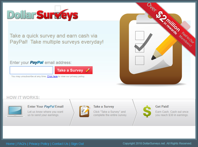 what is dollar surveys
