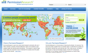 what is permission research about