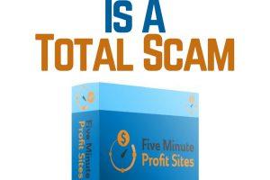 5 Minute Site Profits is a scam