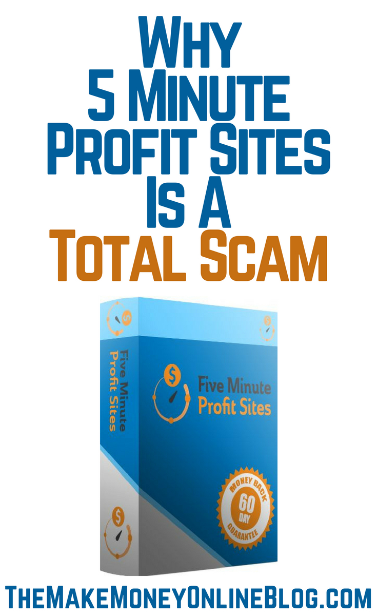 5 Minute Site Profits is a scam