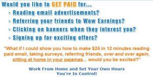 is wow earnings a scam or legit