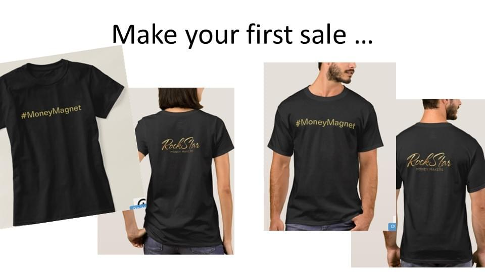rockstar money makers tshirt bonus