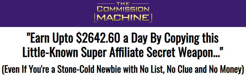 is the commission machine a scam or legit