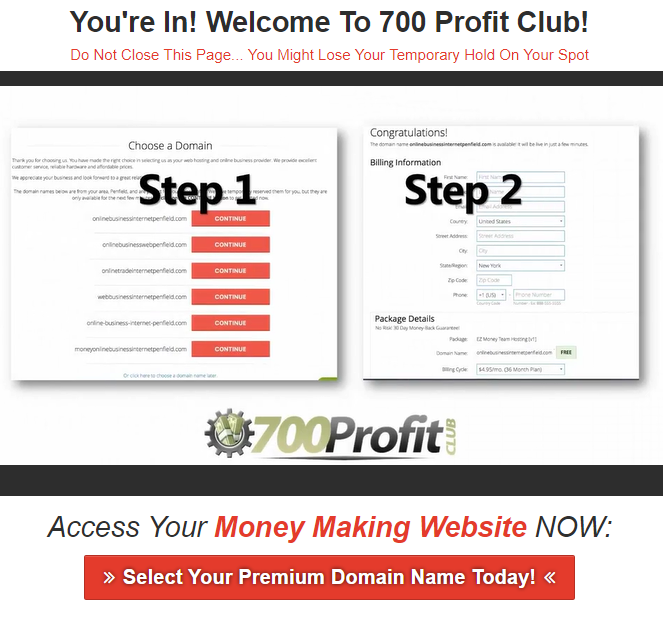 700 profit club scam