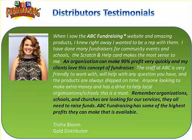 become an abc fundraising distributor