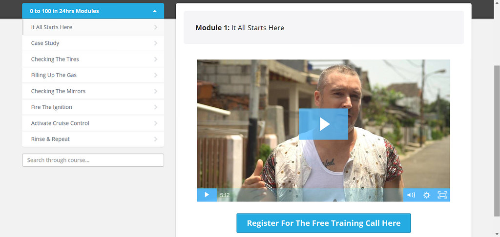from 0 to $100 in 24 hours training review
