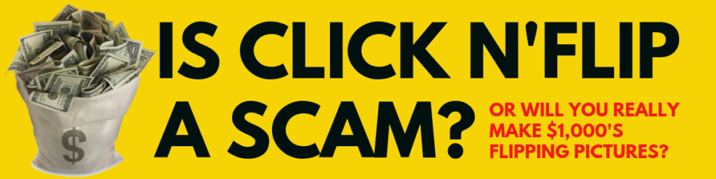 is click n'flip a scam
