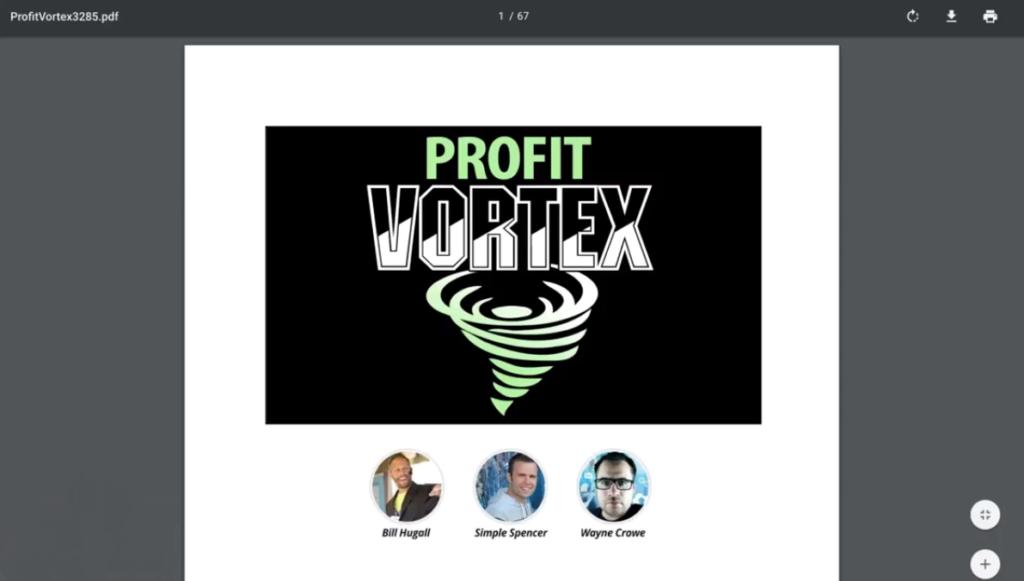 profit vortex pdf ebook