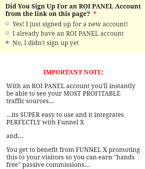 x funnel roi scam