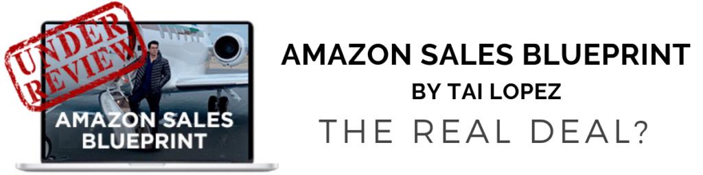 amazon sales blueprint review tai lopez