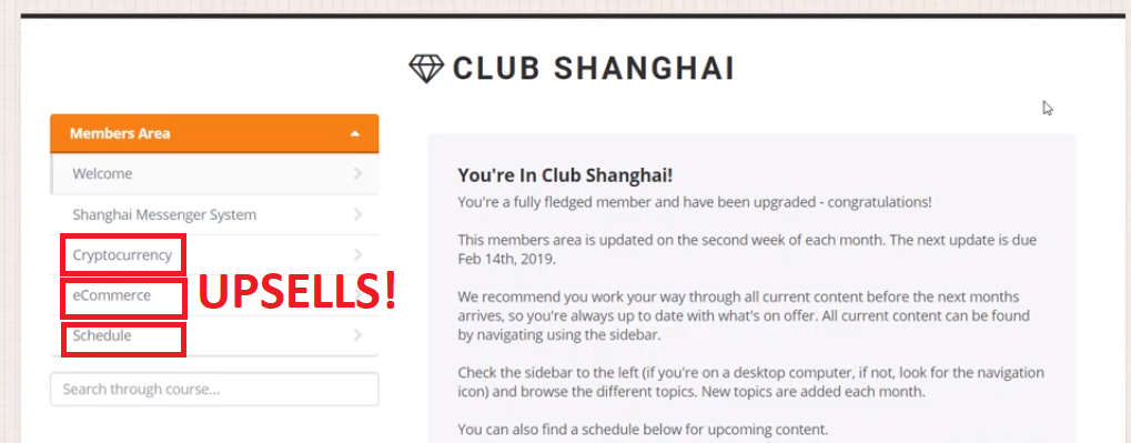 club shanghai scam by jermaine jones members area review