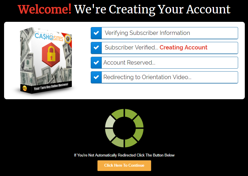 join the private cash sites system