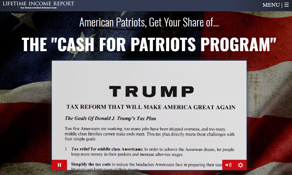 the cash for patriots program scam by zachary scheidt