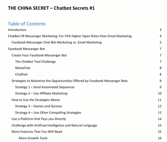 the china secret guide pdf