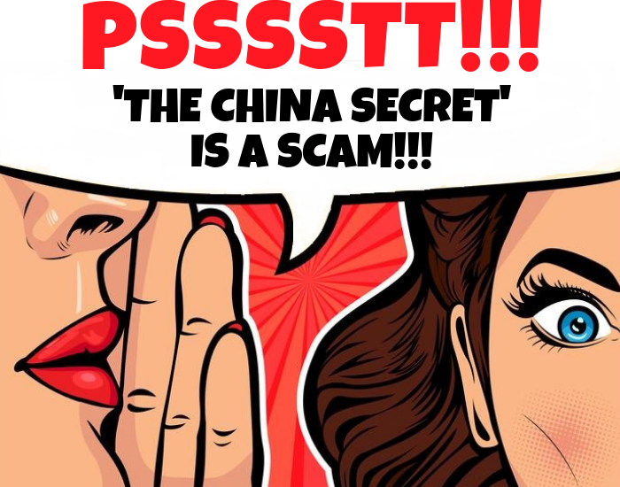 the china secret review scam