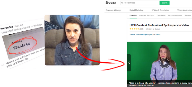 fake video testimonials proof