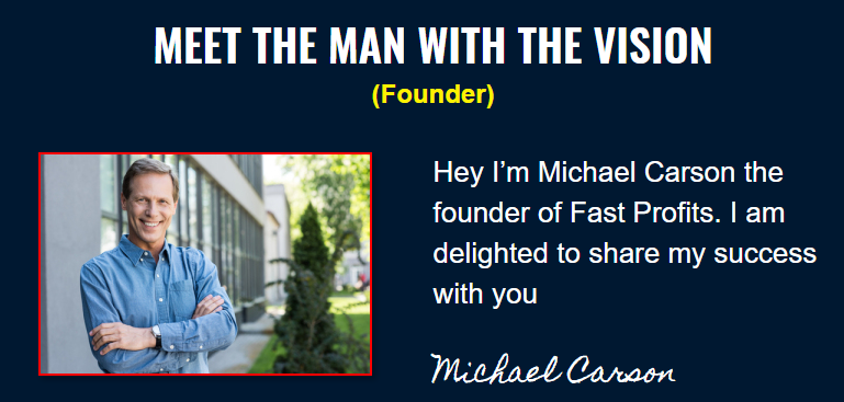 what is fast profits online by michael carson a scam or legit